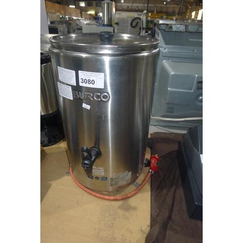 3080 - An LPG Burco water boiler