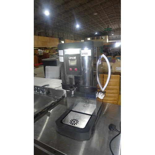 3168 - A commercial stainless steel countertop hot water boiler by Lincat type IP24B A008 - 240v trade