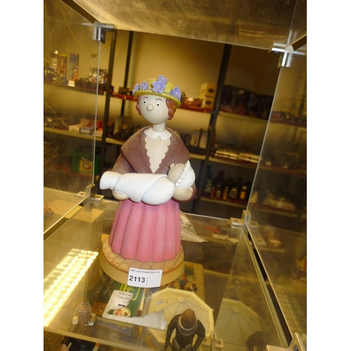 2113 - A large first limited edition 20/2500 figure of Mrs Honeyman from the Camberwick Green Robert Harrop...