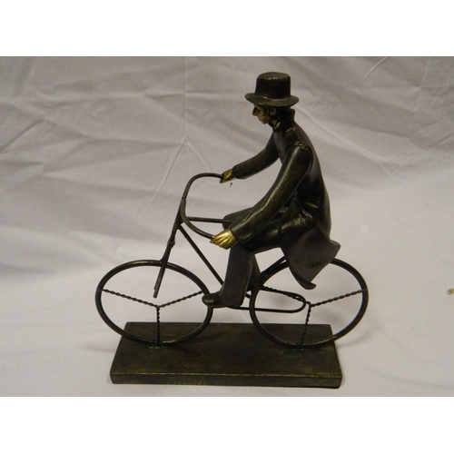 100 - 'The Cyclist' ornament...