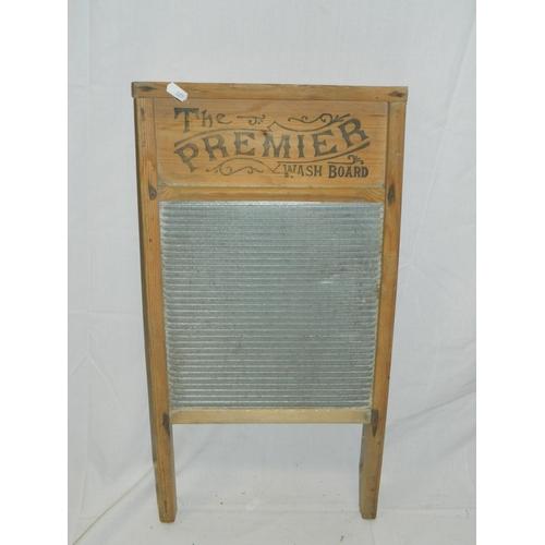 159 - Vintage washboard...
