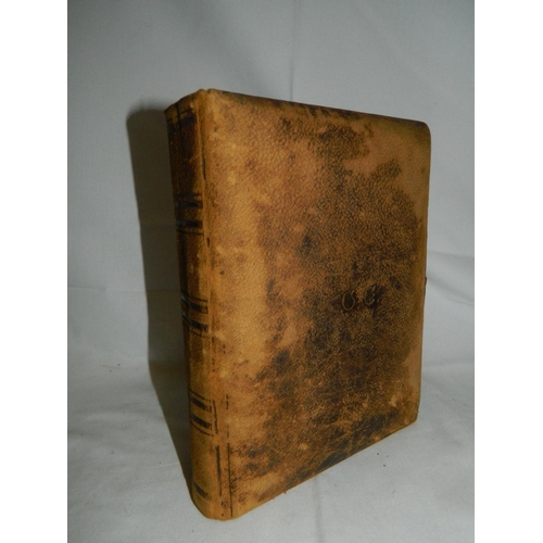 16 - Late Victorian 'clasp fastened' leather family photograph album...