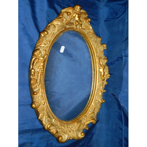 170 - Gilt framed mirror...