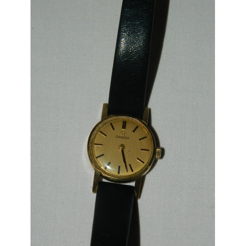 188 - Ladies Omega watch...