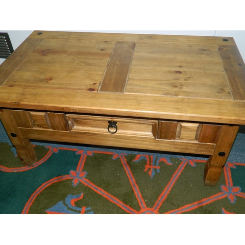 215 - Carona coffee table with drawer...