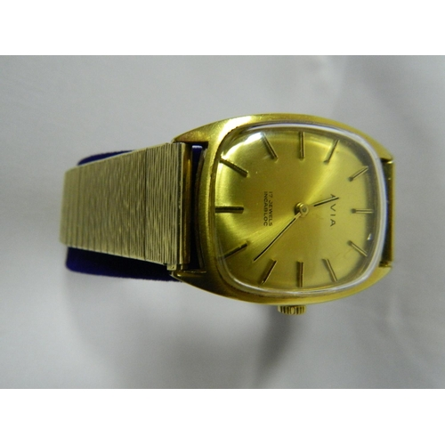 232 - Avia vintage 17 jewel gents watch...