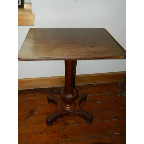 260 - Victorian Oak and Mahogany pedestal table...