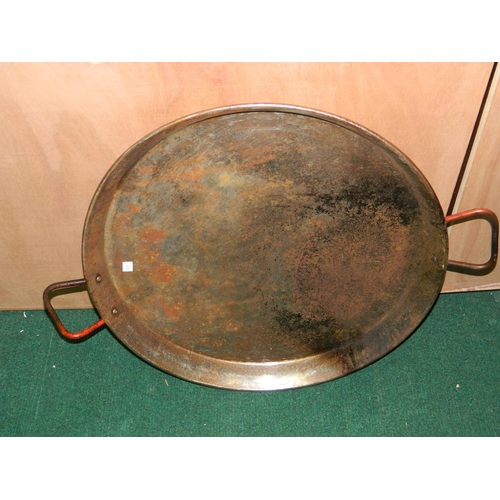 293 - Large Paella made of Stainless steel Diameter: 60cm...