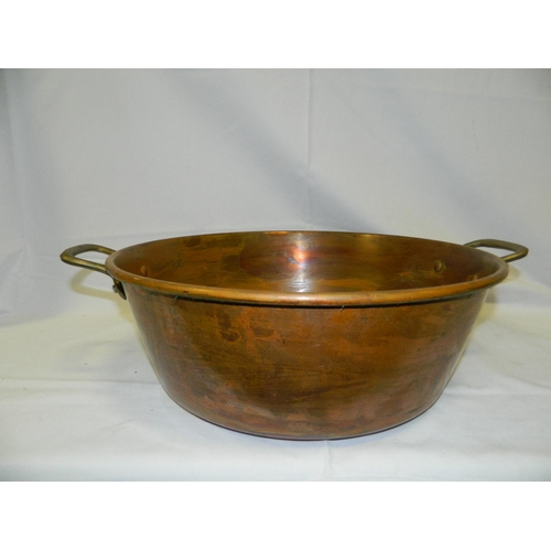 303 - Copper jelly pan D: 37cm...
