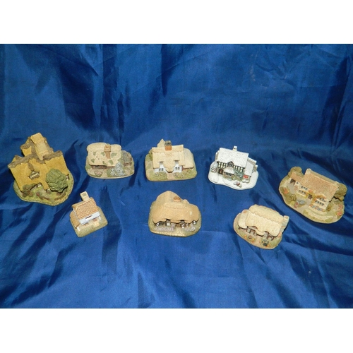 358 - Collection of pottery cottages...