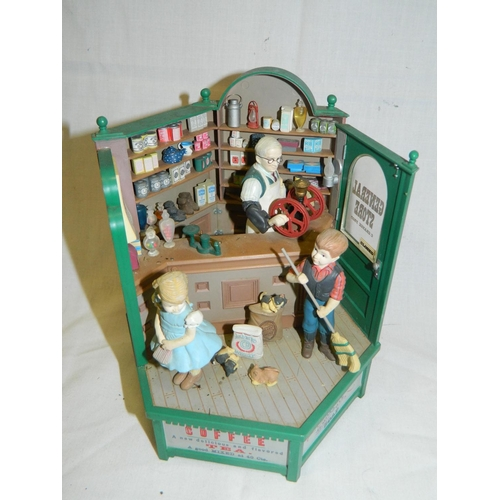 361 - 'General Store' music box...