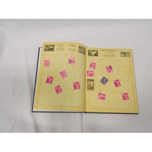 367 - Stamp album...