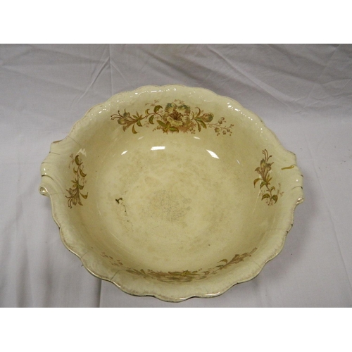368 - Large decorative bowl...