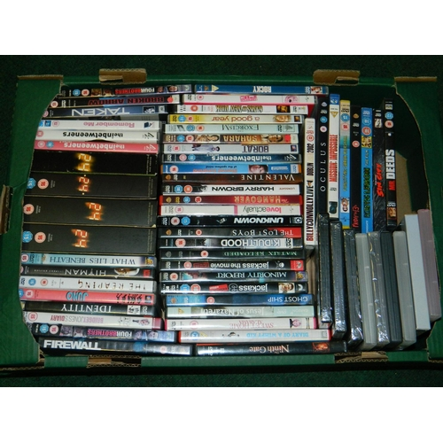 371 - Selection of 60 DVD's including 'Taking of Pelham 123'...