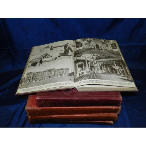 374 - Selection of 5 books including 3 volumes of 'The Field' dated 1932/33, 1 volume of 'The Great War' d...