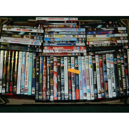 377 - Selection of 62 DVD's including 'Phone Booth and Robin Hood'...