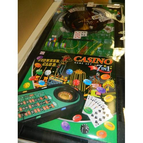 409 - Casino games compendium still boxed...