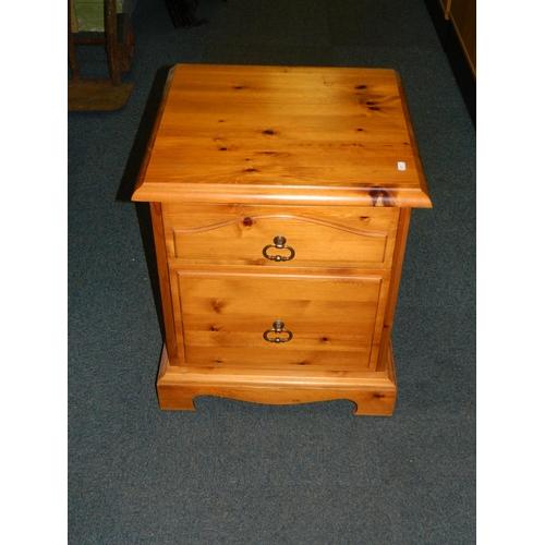 415 - Pine bedside cabinet...
