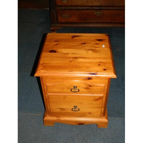 416 - Pine bedside cabinet...