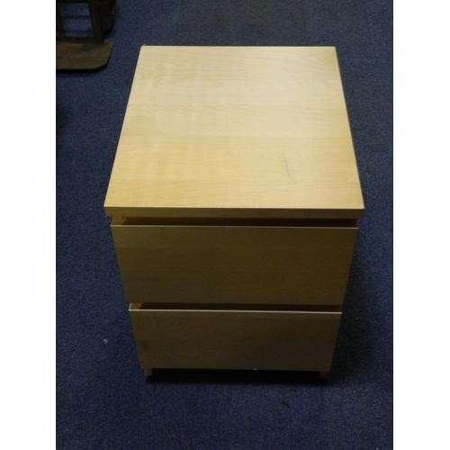 420 - Ash bedside cabinet...