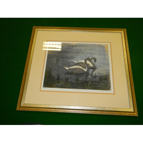 460 - D.G Rabuton framed limited edition print titled 'Glimmering Light' [no 12/100]...