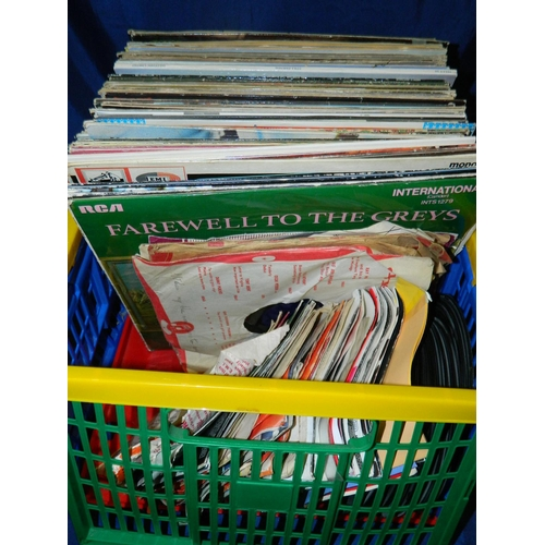 469 - Selection of LP's and 45's...