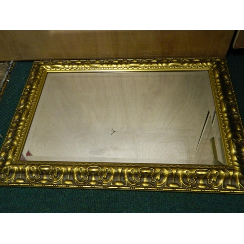 476 - Gilt wall mirror [33''x32'']...