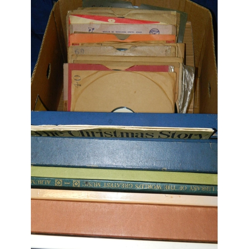 499 - Box containing LPs mainly classical...