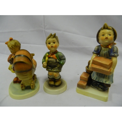 5 - 3 collectable Hummel figures...