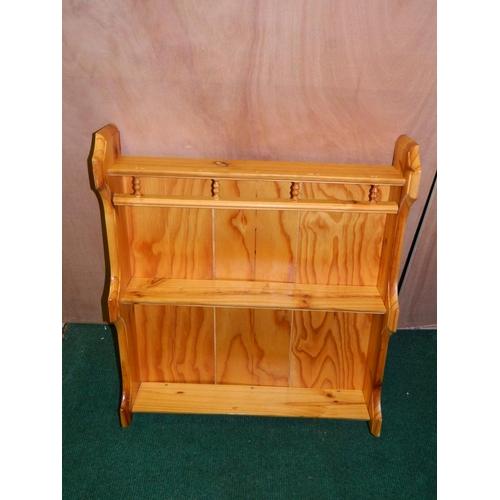 539 - Pine spice rack...