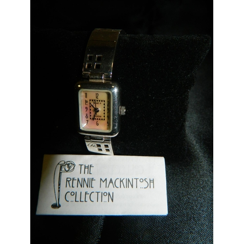 550 - Silver Rennie Mackintosh ladies watch...