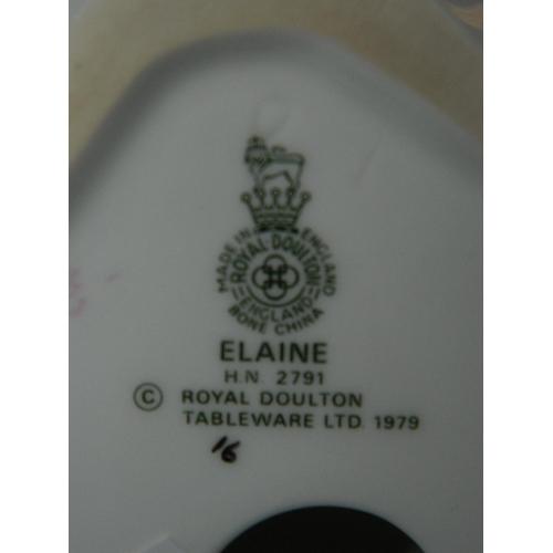 575 - Royal Doulton figurine 'Elaine' HN2791...