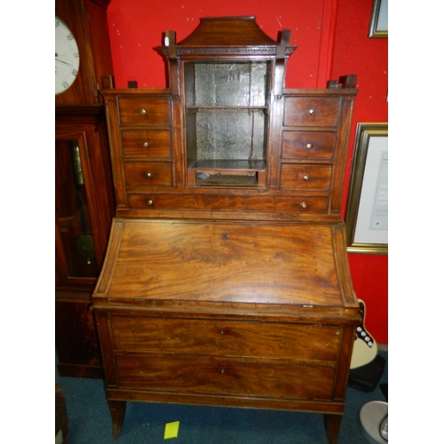 588 - Victorian writing desk...