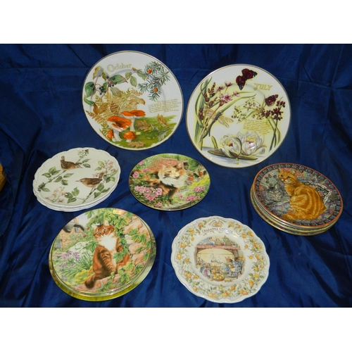 59 - Mixed lot of collectors plates, including Royal Doulton, Coalport and Royal Worcester...