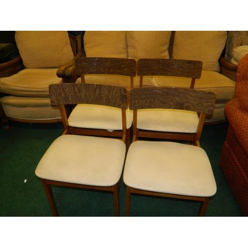 608 - Teak chairs...