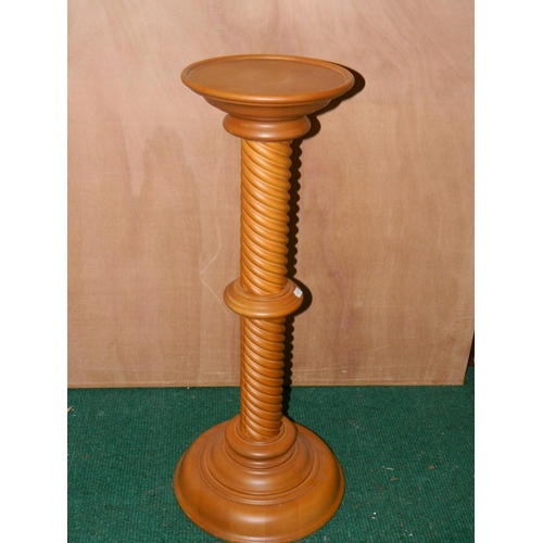 609 - Pedestal plant stand...