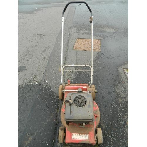 612 - Morrison petrol lawn mower...