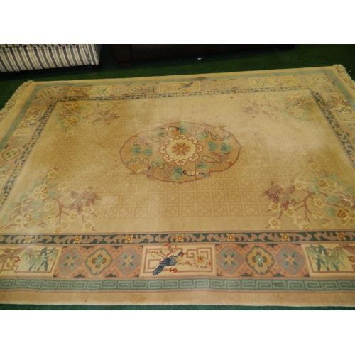 658 - Large Chinese Peking rug [1984 value 2,100.00]...