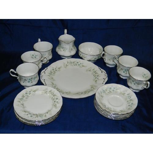 71 - 'Paragon' 6 piece tea set...