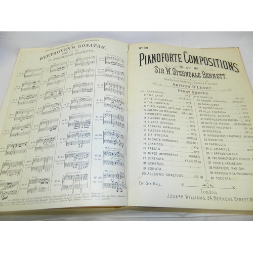 72 - Laudy & Co music score book...