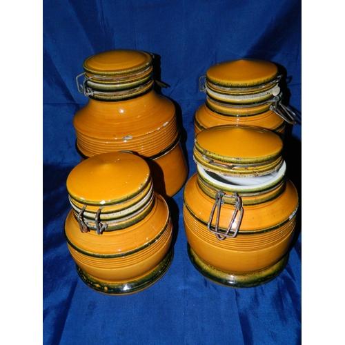 79 - 'Baldelli' Vintage storage jars...