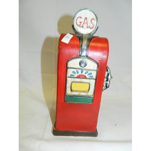 8 - Petrol pump style money box...