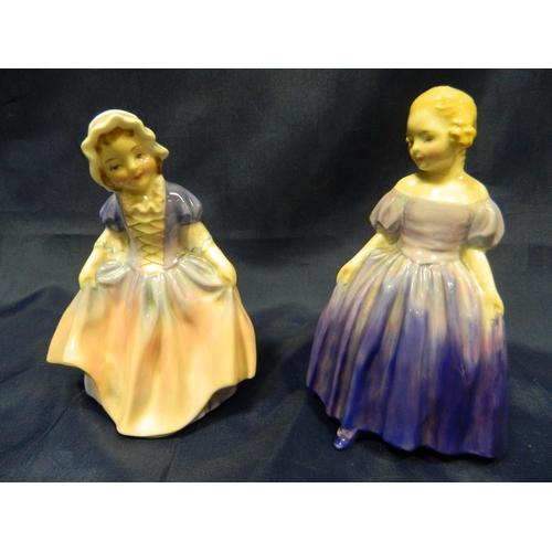 96 - 2 Royal Doulton figurines