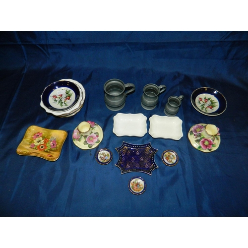 667 - Mixed lot of porcelain including Limoges, Royal Crown Derby...