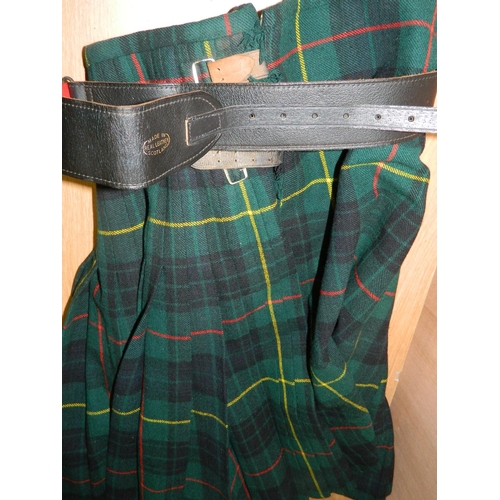 677 - Kilt with belt...