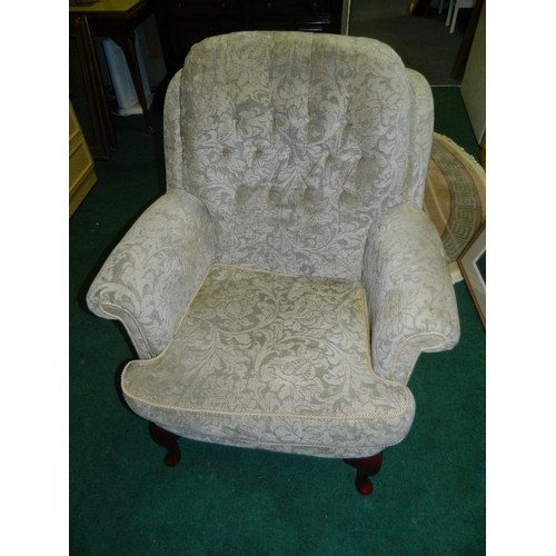 685 - Parker knoll style easy chair...