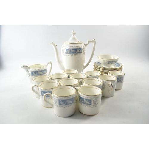 30 - Coalport 'Revelry' coffee set...