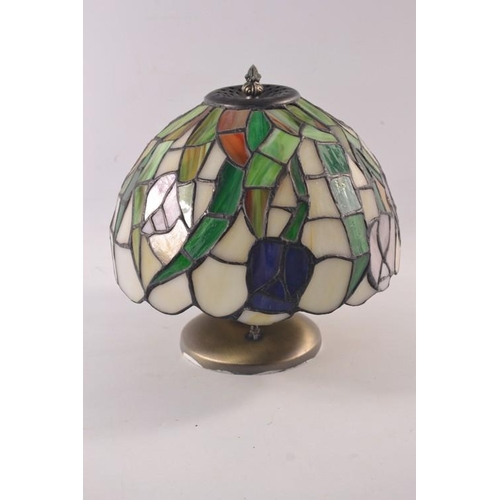 34 - One Tiffany styled hanging light...