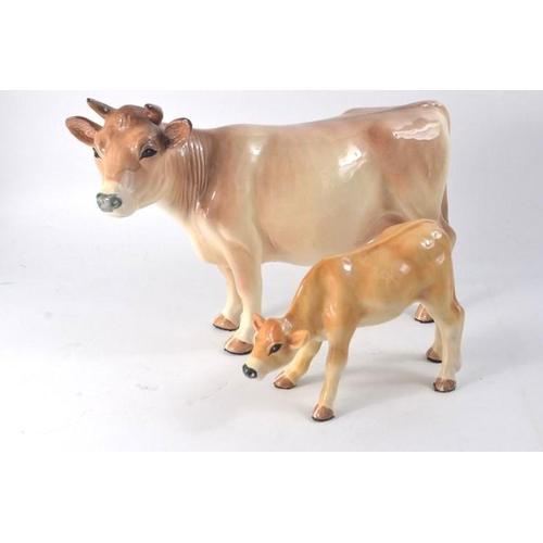 14 - Melbaware china with calf 16cm...