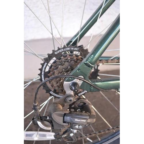 33 - Green coloured 'PARVA' LTD Mountain bike...